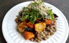 Roasted Vegetable Lentil Salad