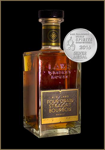 A. D. Laws Four Grain Grain Straight Bourbon