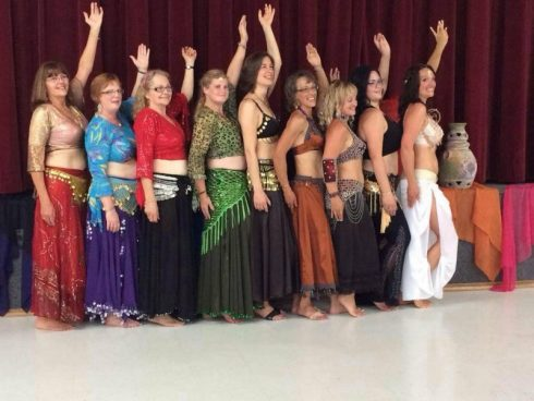 At Forty Five Innergoddess Bellydance