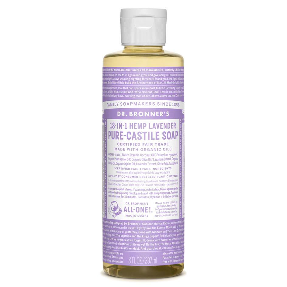 Dr. Bronner's Lavender Pure Castile Soap