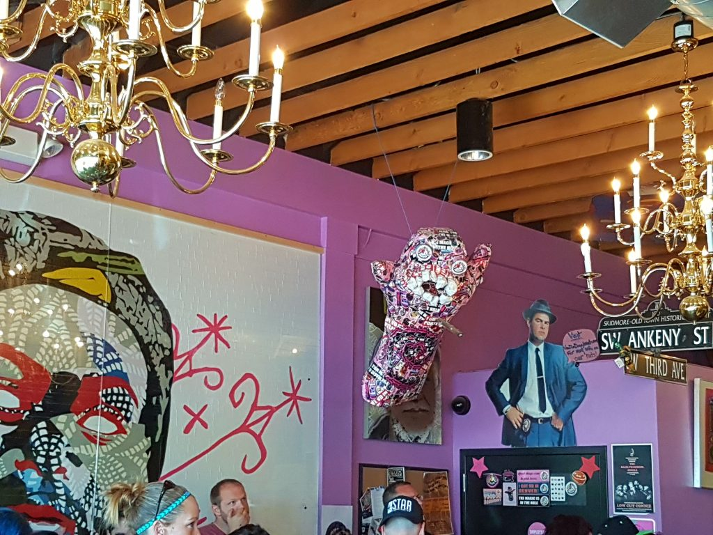 At Forty Five Eat Delicious Voodoo Doughnut