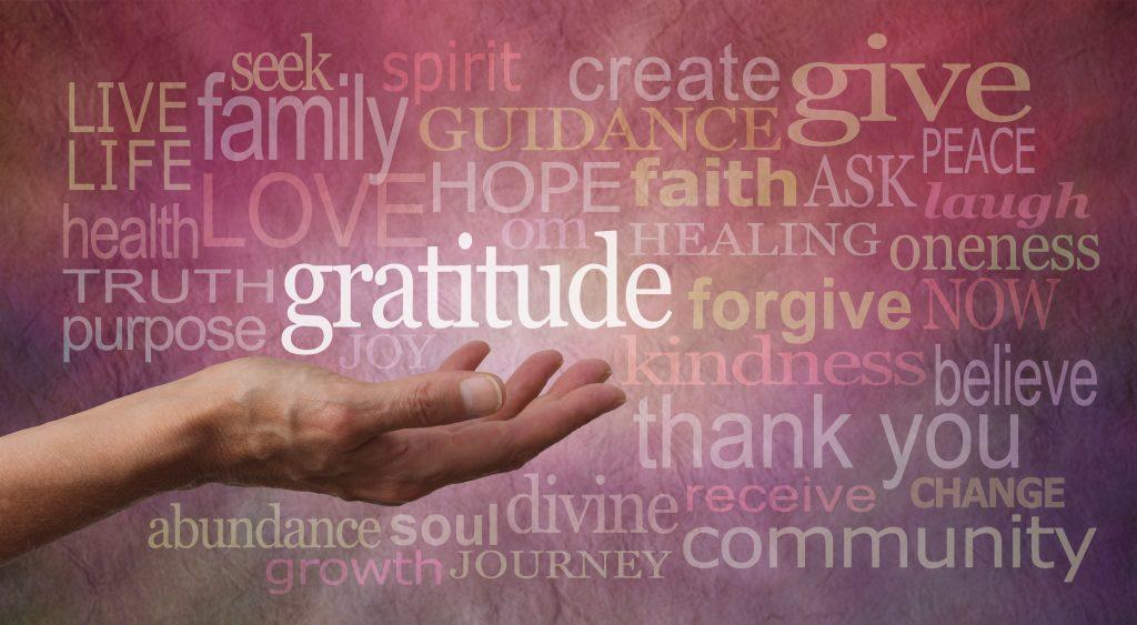 At Forty Five Gratitude Attitude