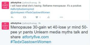 At Forty Five Menopause