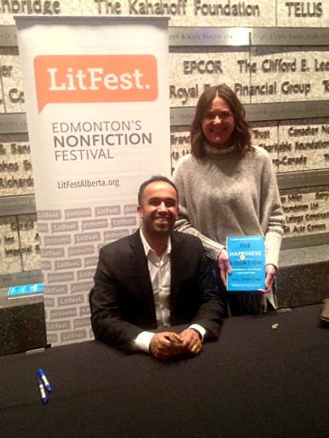At Forty Five At The Happiness Equation Book Signing 2016