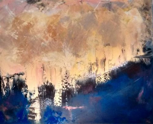 Cityscape Painting At Forty Five