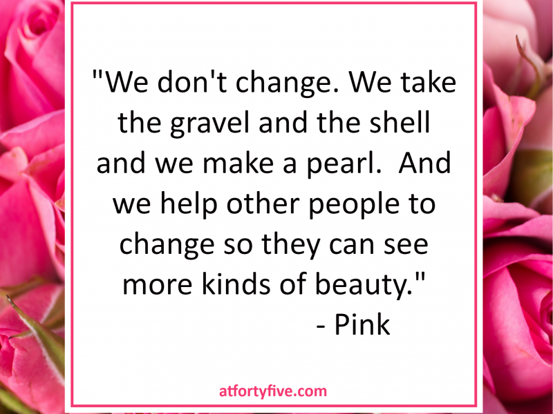 vma2017 Inspiration by Pink At Forty Five