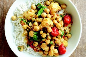 Vegetables and Chickpeas