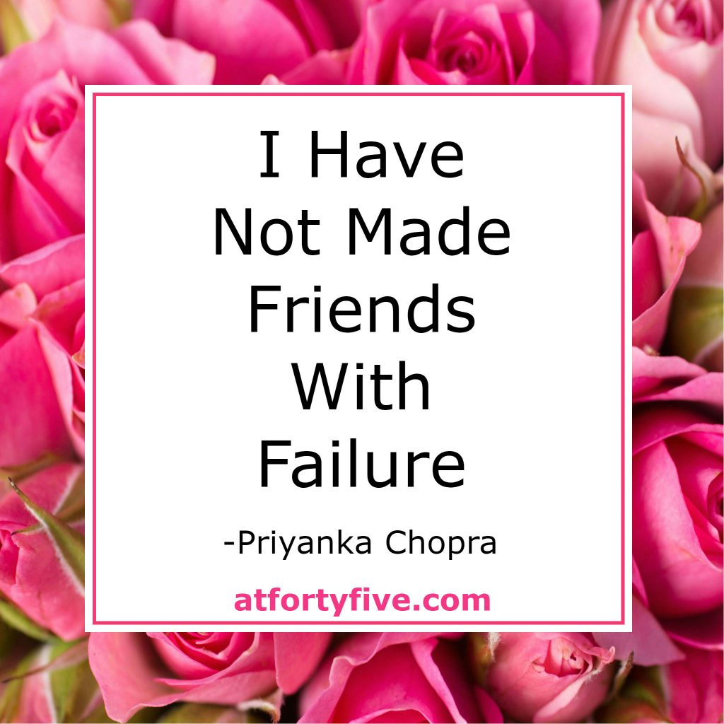 Failure At Forty Five