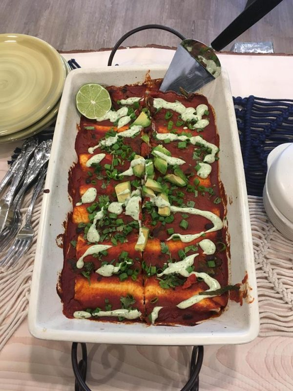 enchiladas At Forty Five