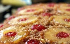 pineapple upside down cake recipe At Forty Five